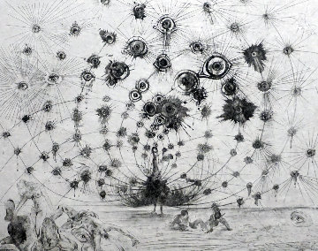 Mythology Argus (Black and White) (Early) 1963 Limited Edition Print - Salvador Dali