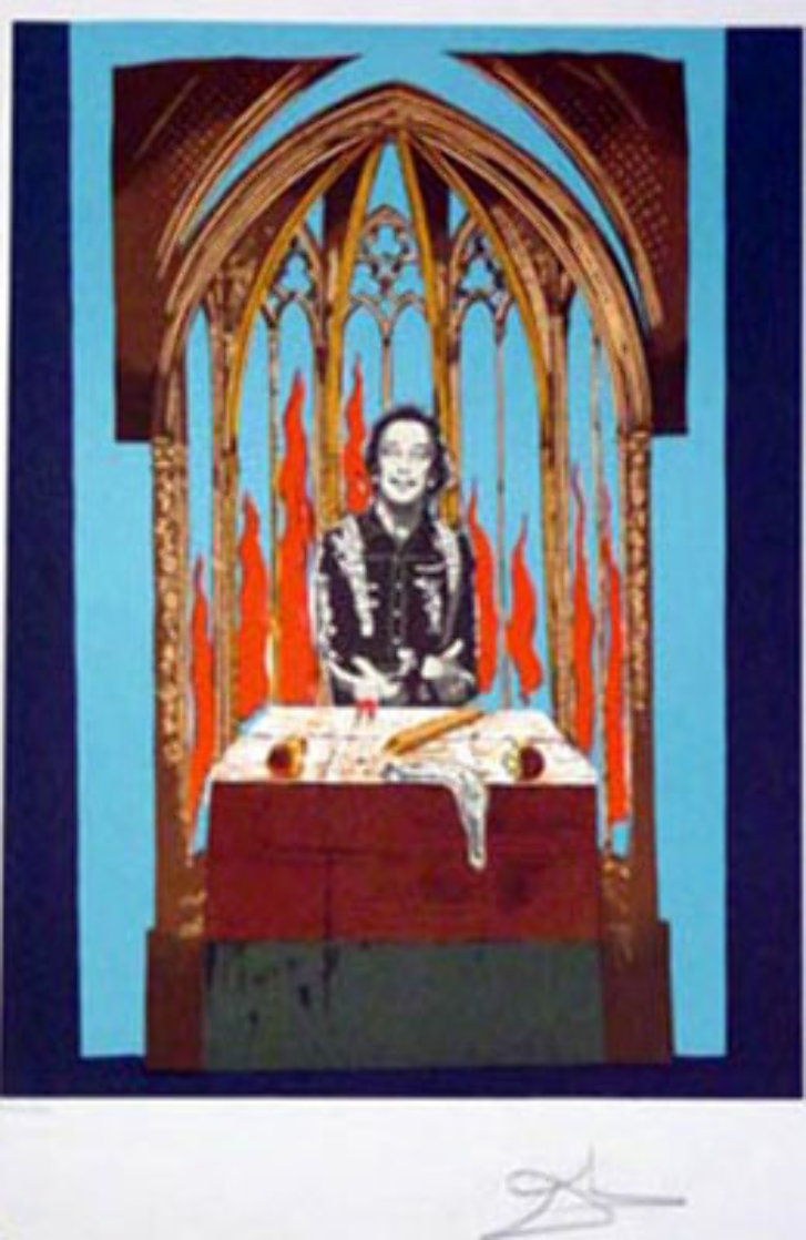 Dali's Inferno 1978 Limited Edition Print by Salvador Dali