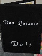 Don Quixote Dali  Platinum   Sculpture 27 in Sculpture by Salvador Dali - 2