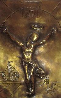 Christ of Saint John of the Bas Relief Cross Bronze Sculpture 32 in Sculpture - Salvador Dali