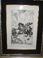St. George and the Dragon 1947 (Very Early) Limited Edition Print by Salvador Dali - 1