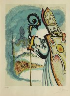 Ivanhoe Suite: King Richard: 1977 Limited Edition Print by Salvador Dali - 1