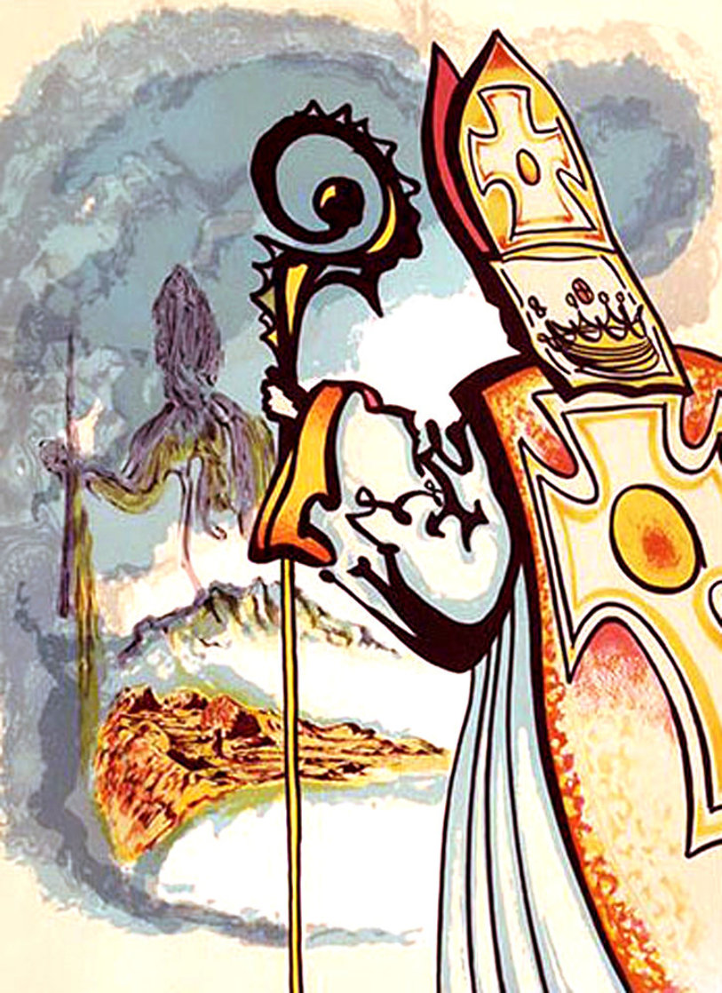 Ivanhoe Suite: King Richard: 1977 Limited Edition Print by Salvador Dali
