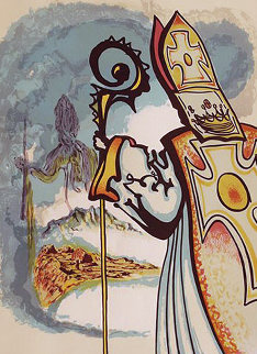 Ivanhoe Suite: King Richard  1977 Limited Edition Print by Salvador Dali