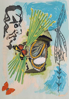 Ivanhoe Suite: The Overseer 1977 Limited Edition Print by Salvador Dali