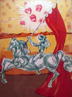 Ivanhoe Suite: Wilfred of Ivanhoe 1977 Limited Edition Print by Salvador Dali - 1