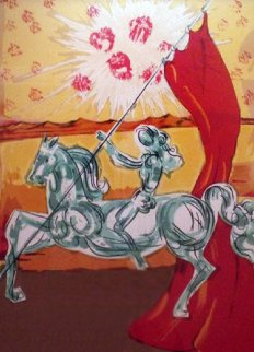 Ivanhoe Suite: Wilfred of Ivanhoe 1977 Limited Edition Print by Salvador Dali