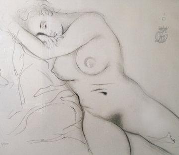 Nude Sleeping Woman 1970 Limited Edition Print by Salvador Dali