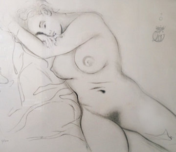 Nude Sleeping Woman 1970 Limited Edition Print - Salvador Dali
