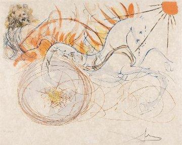 Elijah  1975 Limited Edition Print by Salvador Dali
