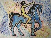 Le Cavalier, (Victory of Primitive Man) 1974 Limited Edition Print by Salvador Dali - 0