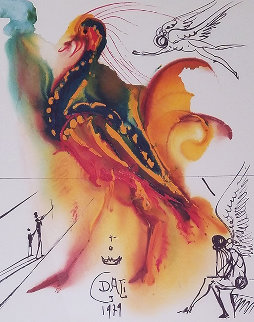 Le Grand Pavon 1979 Limited Edition Print - Salvador Dali