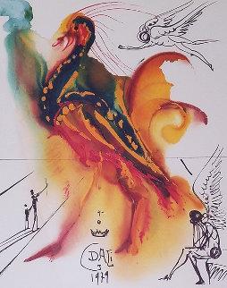 Le Grand Pavon 1979 Limited Edition Print - Salvador Dali