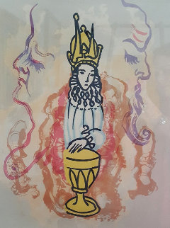 Prince of Cups 1979 Limited Edition Print - Salvador Dali