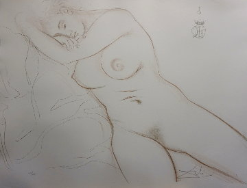 Nudes Sleeping Woman 1970 Limited Edition Print - Salvador Dali