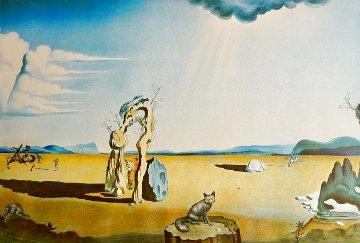 Les Betes Sauvages Dans Le Desert 1975 Limited Edition Print - Salvador Dali