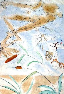 Le Chene Et Le Roseau 1974 Limited Edition Print - Salvador Dali