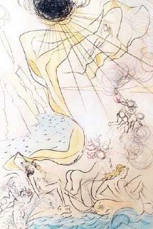 Le Triomphe De Venus 1960 Limited Edition Print by Salvador Dali