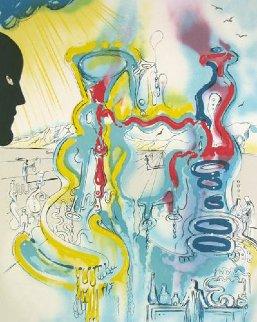 Les Mysteres De l'Alchimiste 1975 Limited Edition Print - Salvador Dali