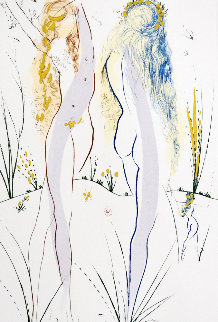 Song of Songs of Solomon Series: Return, Return, Shulamite  1972 Limited Edition Print by Salvador Dali