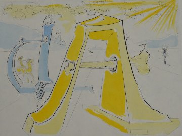 Homage to Durer 1972 Limited Edition Print by Salvador Dali