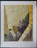 Aliyah the Wailing Wall 1968 (Early) Limited Edition Print by Salvador Dali - 1