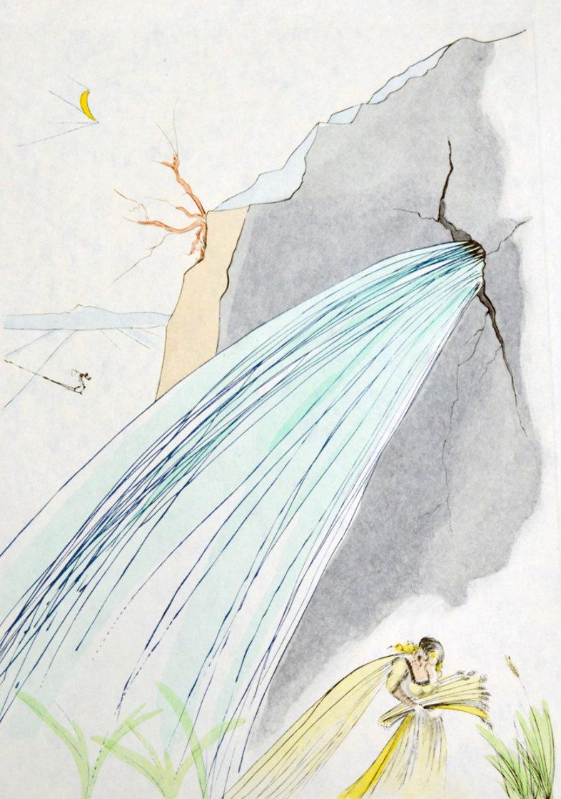 La Sorgente 1975 Limited Edition Print by Salvador Dali