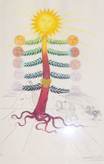 Luna 1968 (Early) Limited Edition Print by Salvador Dali