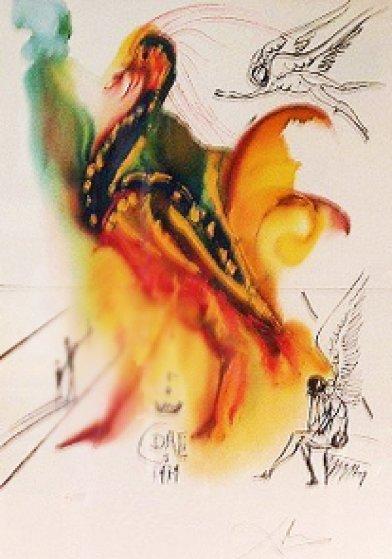 Le Gran Pavon 1975 Limited Edition Print by Salvador Dali