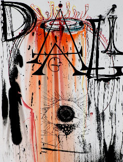 Jewelry Eye Done For an Exhibition At Wally Findlay Gallery Limited Edition Print by Salvador Dali