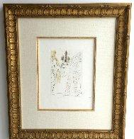 La Femme Adultere Limited Edition Print by Salvador Dali - 1