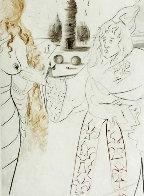 La Femme Adultere Limited Edition Print by Salvador Dali - 0