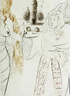 La Femme Adultere Limited Edition Print by Salvador Dali
