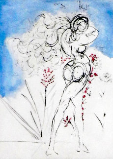 Petites Nus (From Apollinaire) 1972  Limited Edition Print by Salvador Dali
