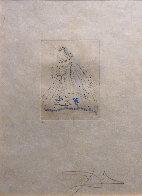 Petites Nus (Ronsard) 1st Row 1st Piece 1973 Limited Edition Print by Salvador Dali - 1