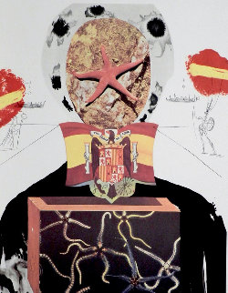 Memories of Surrealism Surrealist King 1971 Limited Edition Print - Salvador Dali