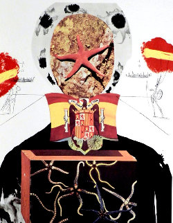 Memories of Surrealism: Surrealist King 1971 Limited Edition Print - Salvador Dali