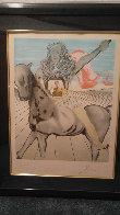 Chevalier Surrealiste - Goya - Jinete De Valazquez 1980 Limited Edition Print by Salvador Dali - 1