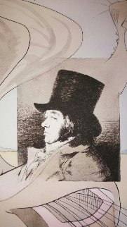 Caprice De Goya Plate 59 Limited Edition Print - Salvador Dali