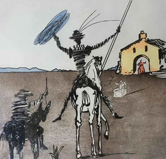 Impossible Dream 1980 Limited Edition Print by Salvador Dali