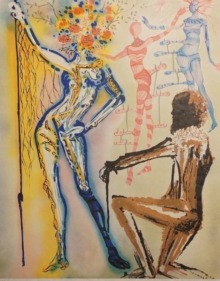 Fashion Designer 1980 Limited Edition Print by Salvador Dali