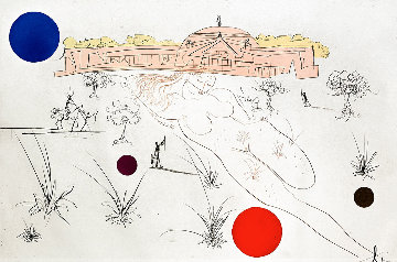 Visions of Chicago: Museum of Science And Industry 1975 Limited Edition Print by Salvador Dali