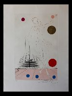 Visions of Chicago: Buckingham Fountain 1975 Limited Edition Print by Salvador Dali - 1