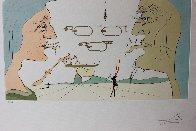 Le Telegraphe 1975 Limited Edition Print by Salvador Dali - 2