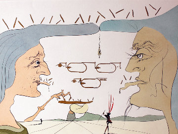 Le Telegraphe 1975 Limited Edition Print by Salvador Dali
