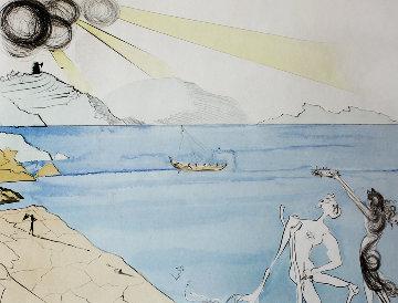 Les Lauriers Du Bonheur (The Laurels of Happiness) 1974 Limited Edition Print by Salvador Dali