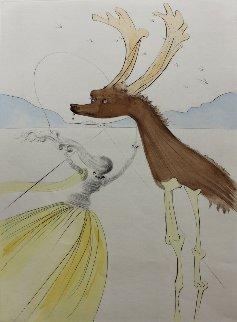 Naphtali 1972 Limited Edition Print - Salvador Dali