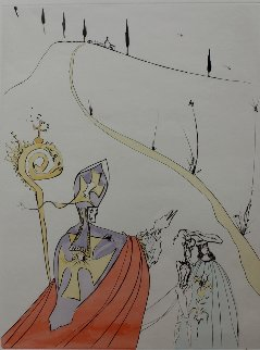 L'amour Sacre De Gala (the Sacred Love of Gala) 1974 Limited Edition Print - Salvador Dali