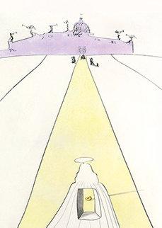 Dieu, Le Temps, l'espace Et Le Pape (God, Time, Space And the Pope) 1974 Limited Edition Print by Salvador Dali