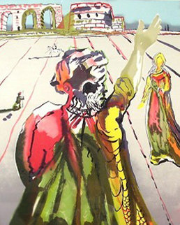 Poet Advises The Maiden 1979 Limited Edition Print by Salvador Dali